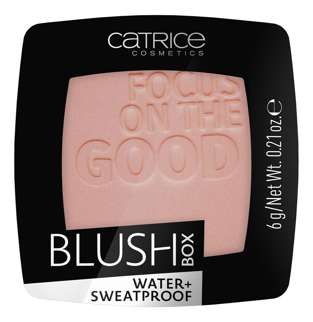 Румяна для лица Blush Box Water+ Sweatprof 6г: 025 Nude Peach румяна blush box glowing multicolour 2 оттенка