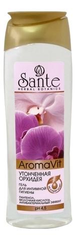Гель для интимной гигиены Утонченная орхидея Aroma Vit 250мл