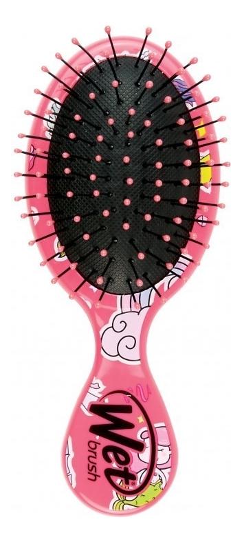 Щетка для спутанных волос Mini Detangler Brush Happy Hair Mermaids & Unicorn