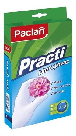 Латексные перчатки Latex Gloves 10шт: Размер S