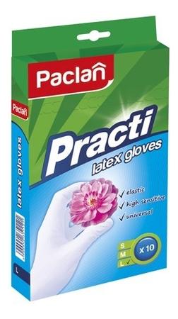 Латексные перчатки Latex Gloves 10шт: Размер L