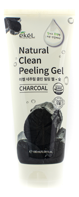 Пилинг-скатка для лица с древесным углём Charcoal Natural Clean Peeling Gel 180мл пилинг скатка с экстрактом киви farmstay all in one whitening peeling gel kiwi 180мл