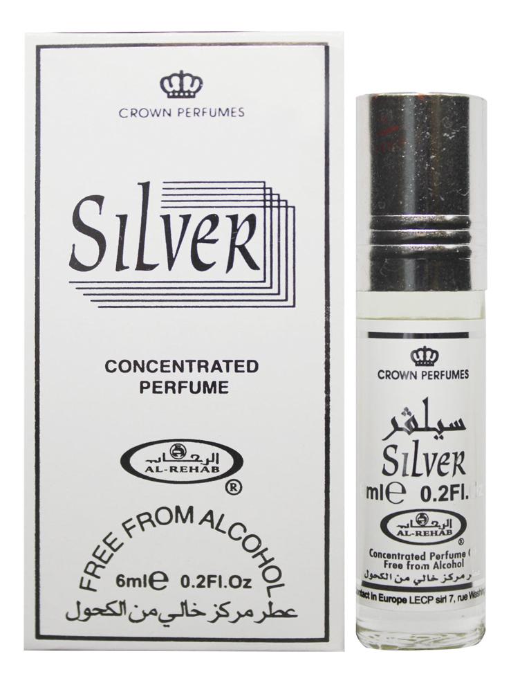 Al-Rehab Silver: масляные духи 6мл al rehab no 1 масляные духи 6мл