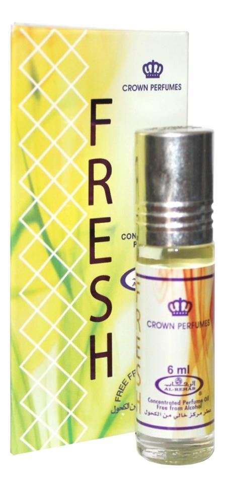 Al-Rehab Fresh: масляные духи 6мл al rehab no 1 масляные духи 6мл