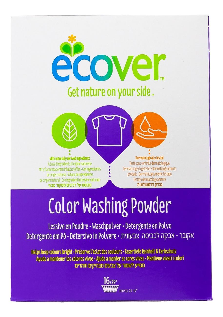 Экологический стиральный порошок-концентрат для цветного белья Colour Washing Powder 1200г стиральный порошок grass alpi expert для цветного белья 10 кг