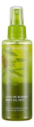 Спрей-масло для тела Love Me Bubble Body Oil Mist-Olive 200мл