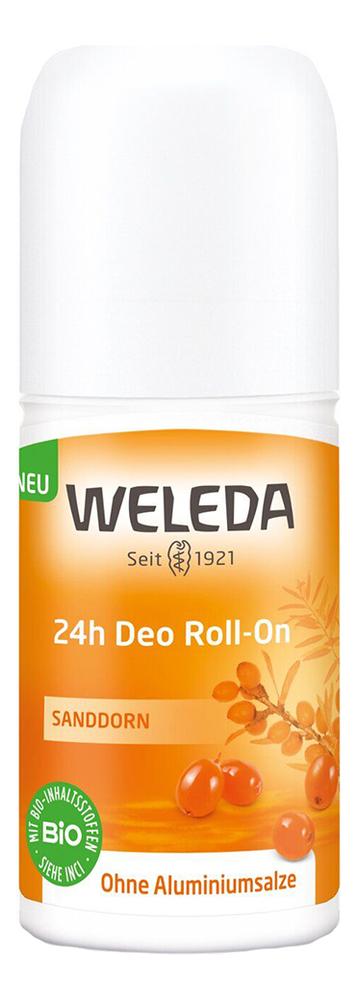 Дезодорант с экстрактом облепихи 24h Roll-On 50 мл weleda дезодорант цитрусовый 24 часа roll on 50 мл