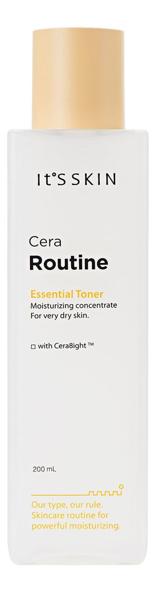 Интенсивно увлажняющий тонер для лица Cera Routine Essential Toner: Тонер 200мл успокаивающий тонер для лица centella green level calming toner 200мл