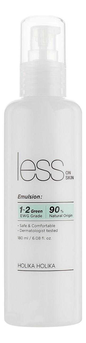 Увлажняющая эмульсия для лица против покраснений и акне Less On Skin Emulsion 180мл holika holika эмульсия успокаивающая для проблемной кожи skin