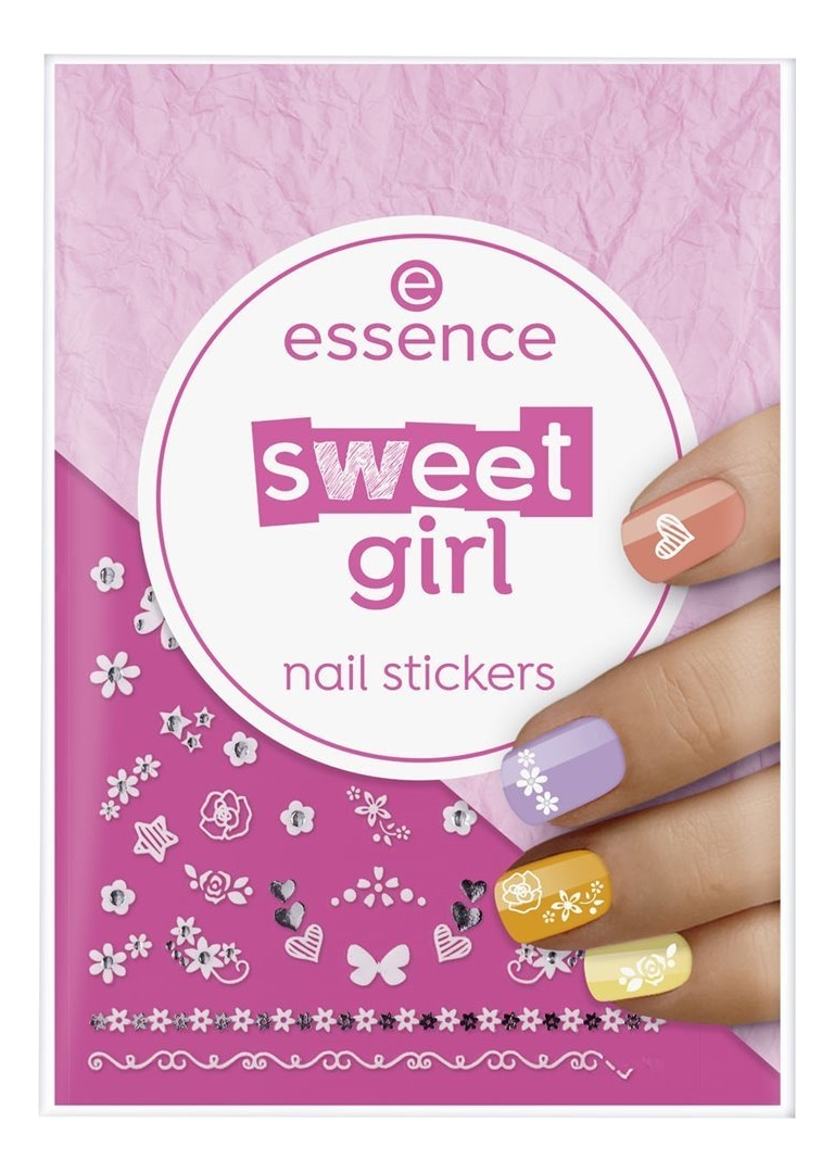 Наклейки для ногтей Nail Stickers Sweet Girl