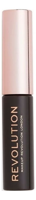 Гелевая тушь для бровей Brow Gel: Dark Brown makeup revolution brow pomade dark brown помадка для бровей