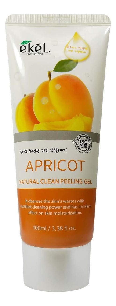 Пилинг-скатка для лица с экстрактом абрикоса Apricot Natural Clean Peeling Gel: Пилинг-скатка 100мл пилинг скатка с экстрактом киви farmstay all in one whitening peeling gel kiwi 180мл
