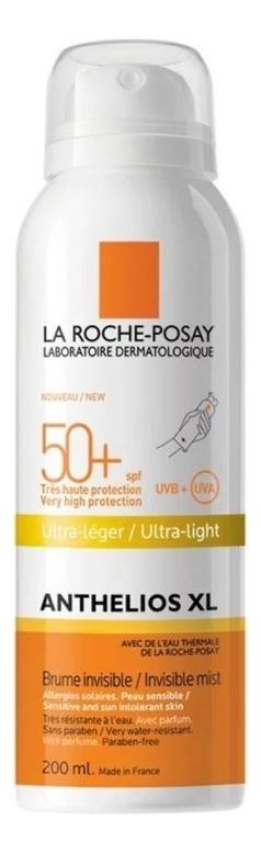 Солнцезащитный спрей-вуаль для лица и тела Anthelios XL Invisible Mist SPF50+ 200мл