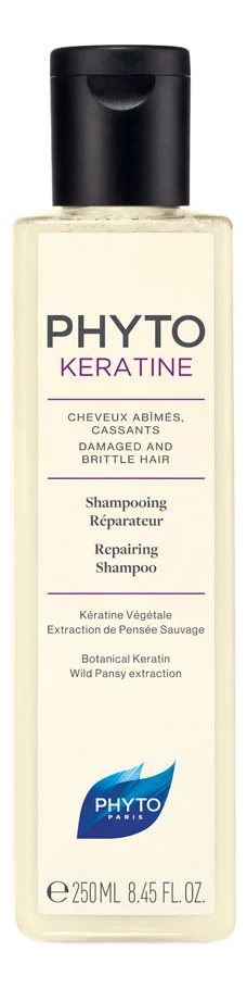 Восстанавливающий шампунь для волос Phytokeratine Shampoing Reparateur 250мл