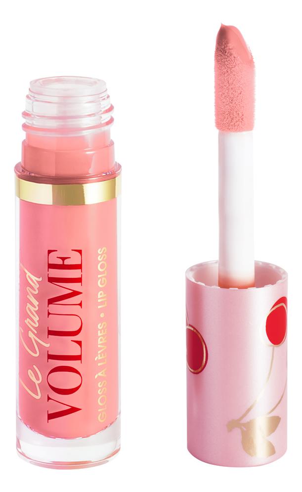 Лаковый блеск для губ Le Grand Volume Lip Gloss 3мл: No4 блеск для губ pearl in love gloss 5 3мл all about you
