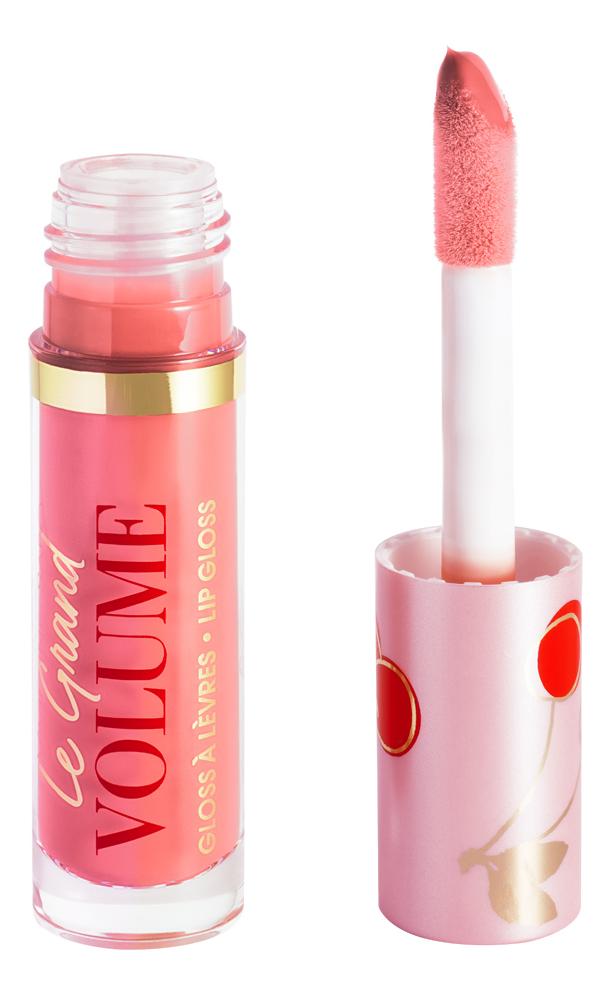 Лаковый блеск для губ Le Grand Volume Lip Gloss 3мл: No5 блеск для губ pearl in love gloss 5 3мл all about you