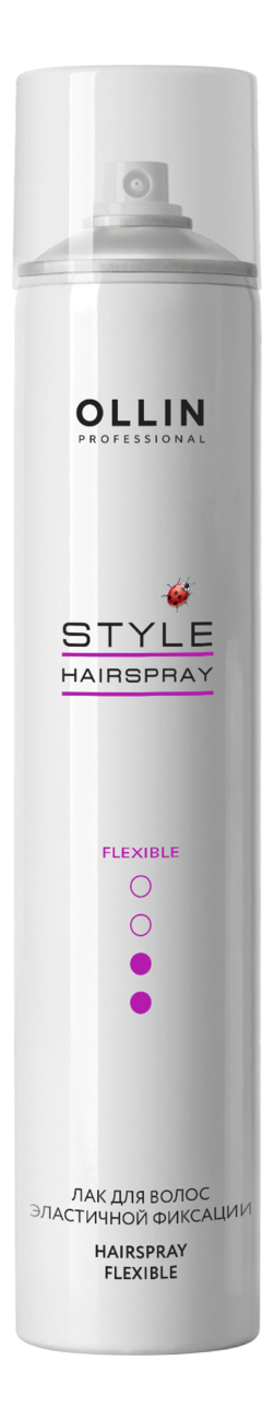 Лак для волос эластичной фиксации Style Hairspray Flexible Hold: Лак 450мл schwarzkopf osis session label flexible hold hairspray лак для волос эластичной фиксации 500 мл