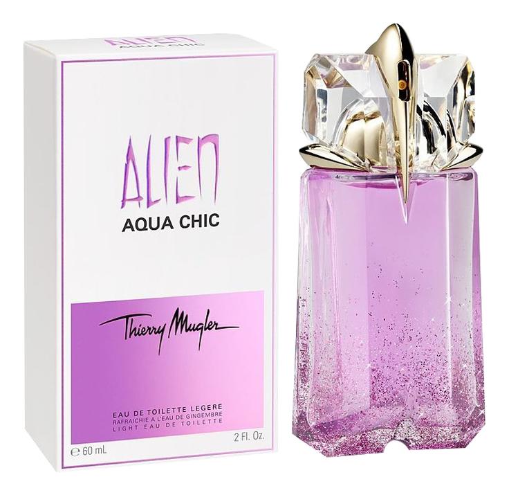 Mugler Alien Aqua Chic: туалетная вода 60мл mugler angel aqua chic туалетная вода 50мл