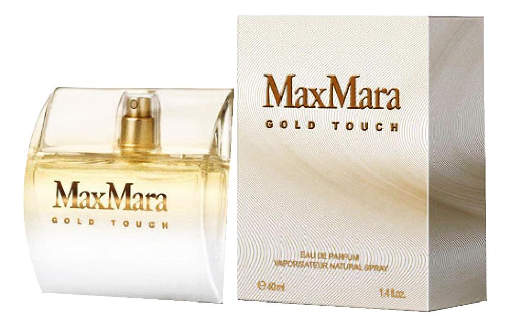 Max Mara Gold Touch: парфюмерная вода 40мл очки солнцезащитные max mara max mara ma994dwayej0