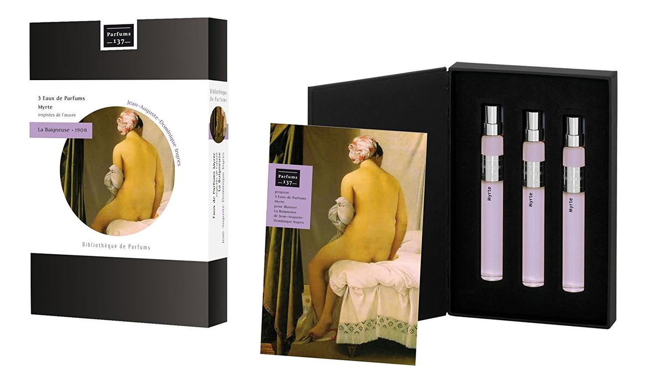 Parfums 137 Jeux de Parfums La Baigneuse 1808: парфюмерная вода 3*15мл parfums 137 jeux de parfums vetyver парфюмерная вода 3 15мл