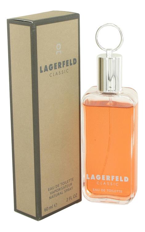 Karl Lagerfeld Lagerfeld Classic: туалетная вода 60мл бейсболка karl lagerfeld karl lagerfeld ka025cmehwr4