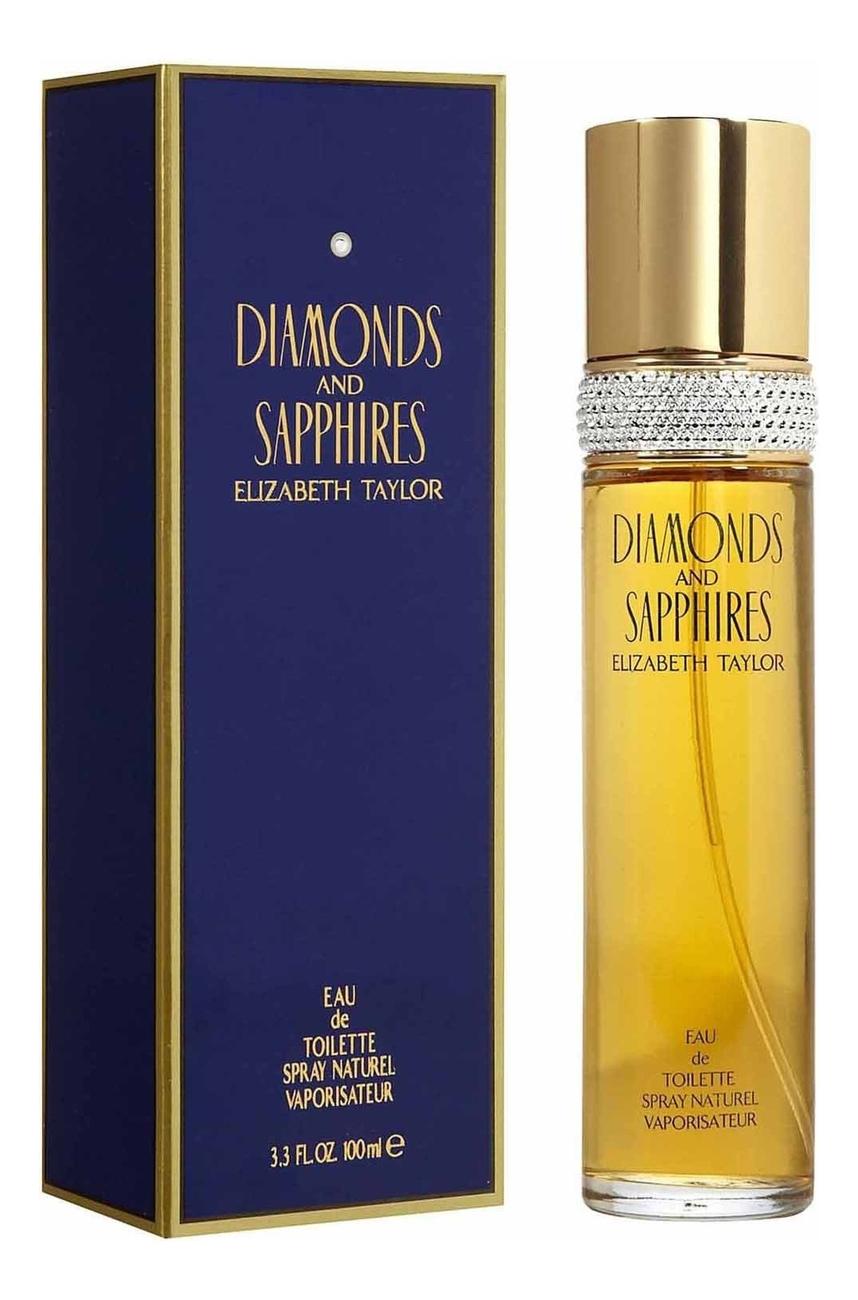 Elizabeth Taylor Diamonds and Sapphires: туалетная вода 100мл elizabeth taylor white diamonds lustre туалетная вода 100мл