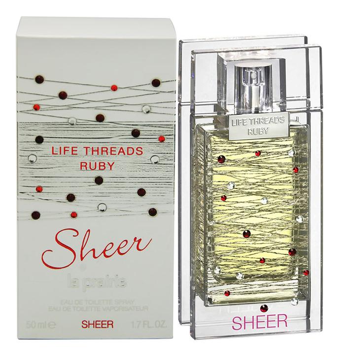 La Prairie Life Threads Ruby Sheer: туалетная вода 50мл la prairie life threads emerald туалетные духи тестер 50 мл