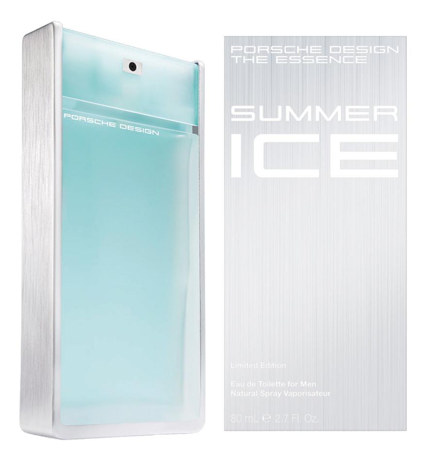 Porsche Design The Essence Summer Ice men: туалетная вода 80мл porsche design palladium туалетная вода тестер 100 мл