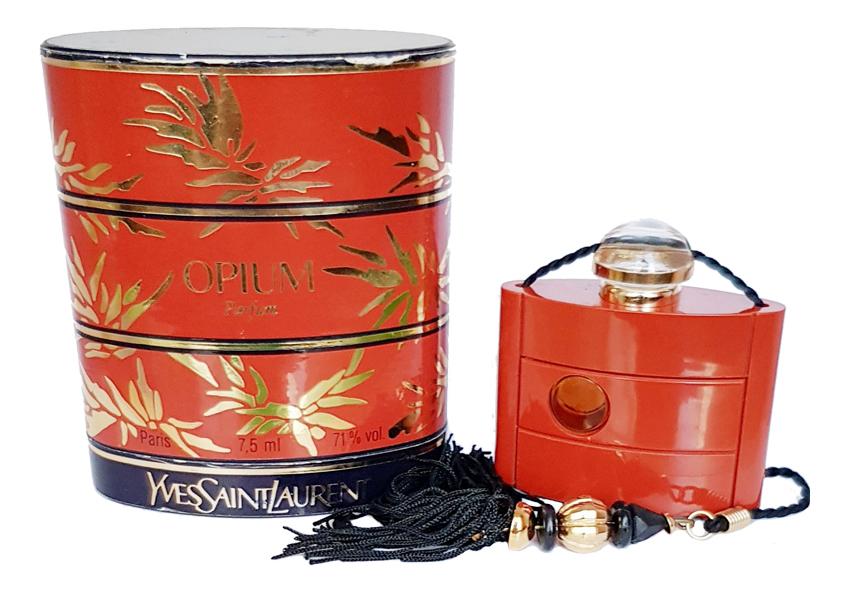 YSL Opium: духи 7,5мл винтаж yves saint laurent black opium wild edition туалетные духи 50 мл