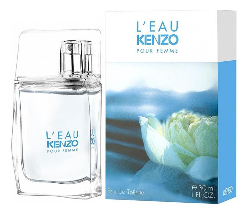 Kenzo L'Eau Pour Femme: туалетная вода 30мл kenzo leau туалетная вода 100 мл