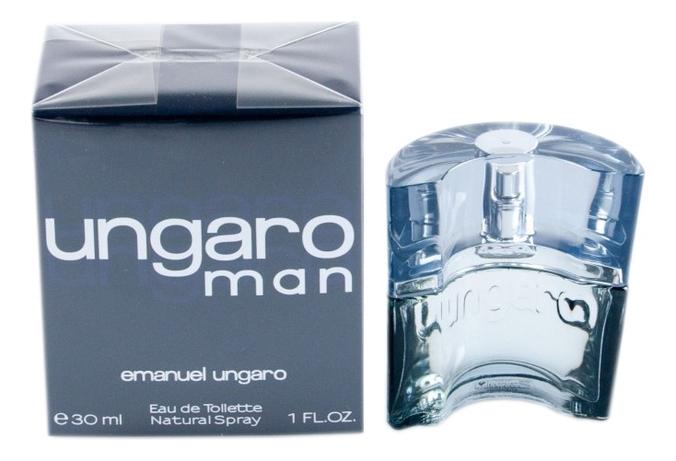 Emanuel Ungaro Man: туалетная вода 30мл