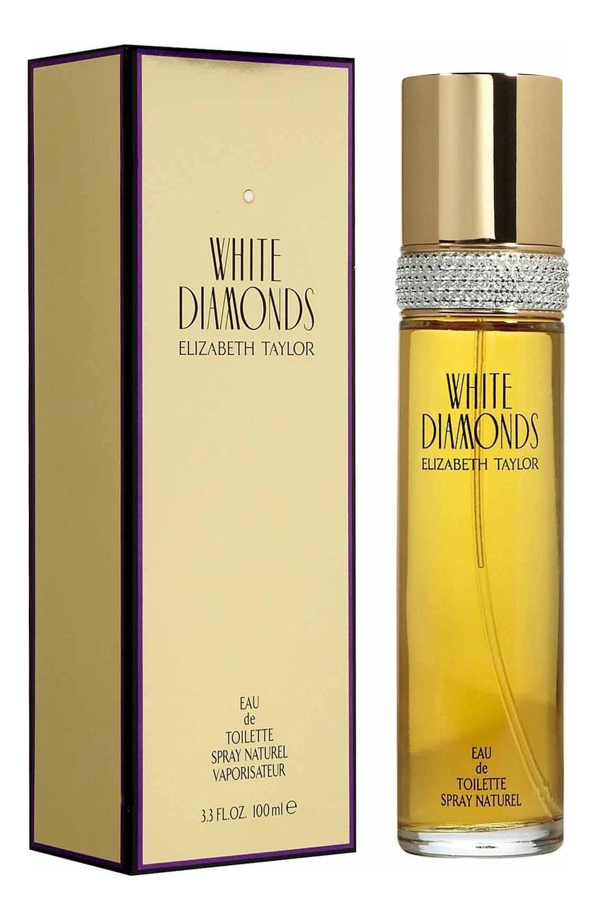 Elizabeth Taylor White Diamonds: туалетная вода 100мл elizabeth taylor white diamonds lustre туалетная вода 100мл