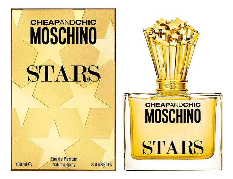 Moschino Cheap and Chic Stars: парфюмерная вода 100мл moschino stars