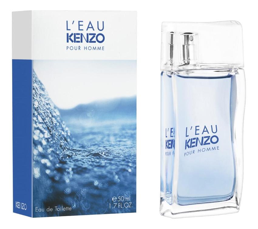 Kenzo L'Eau Pour Homme: туалетная вода 50мл kenzo homme туалетная вода 30мл