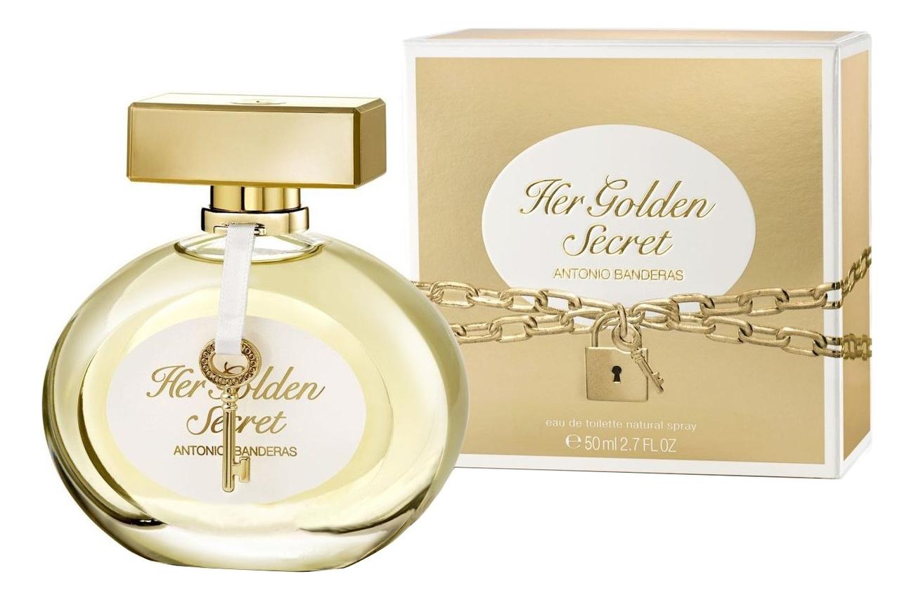 Antonio Banderas Her Golden Secret: туалетная вода 50мл antonio banderas her secret desire eau de toilette