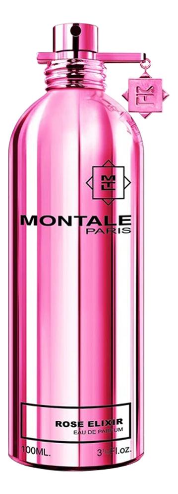Montale RosE Elixir: парфюмерная вода 100мл тестер montale aoud sense туалетные духи тестер 100 мл