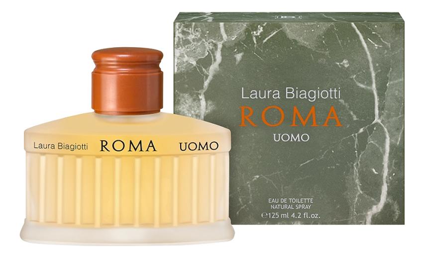 Laura Biagiotti Roma Uomo: туалетная вода 125мл laura biagiotti roma uomo туалетная вода 75 мл