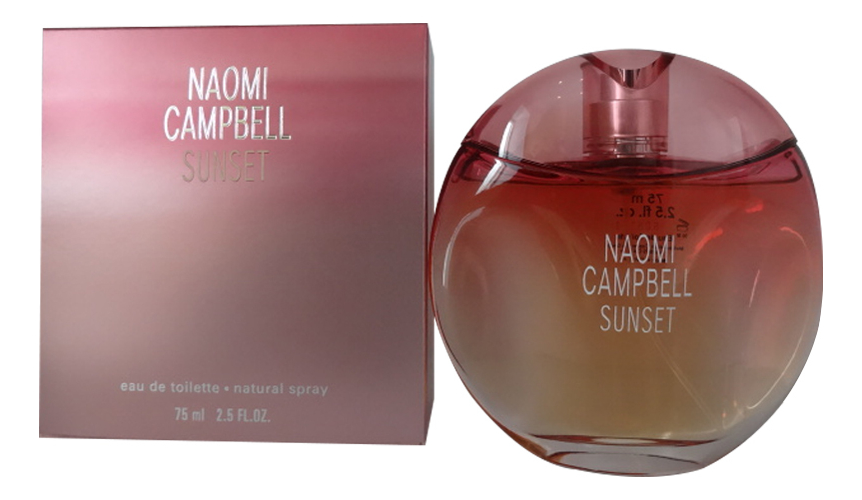 Naomi Campbell Sunset: туалетная вода 75мл