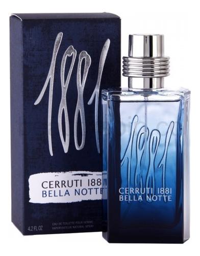 Cerruti 1881 Bella Notte: туалетная вода 125мл гель лак patrisa nail dream pink 8 мл оттенок n3 бежевый