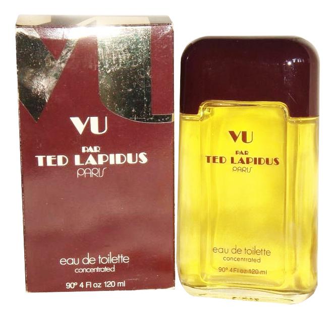 Ted Lapidus Vu par Ted Lapidus: туалетная вода 120мл