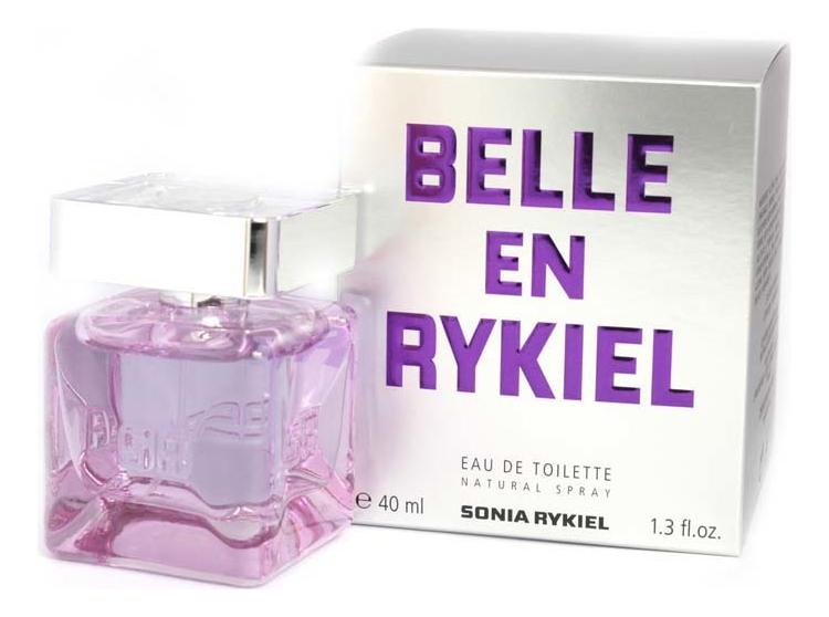 Sonia Rykiel Belle en Rykiel Eau de Toillete: туалетная вода 40мл sonia rykiel l eau de sonia rykiel парфюмерная вода 50мл