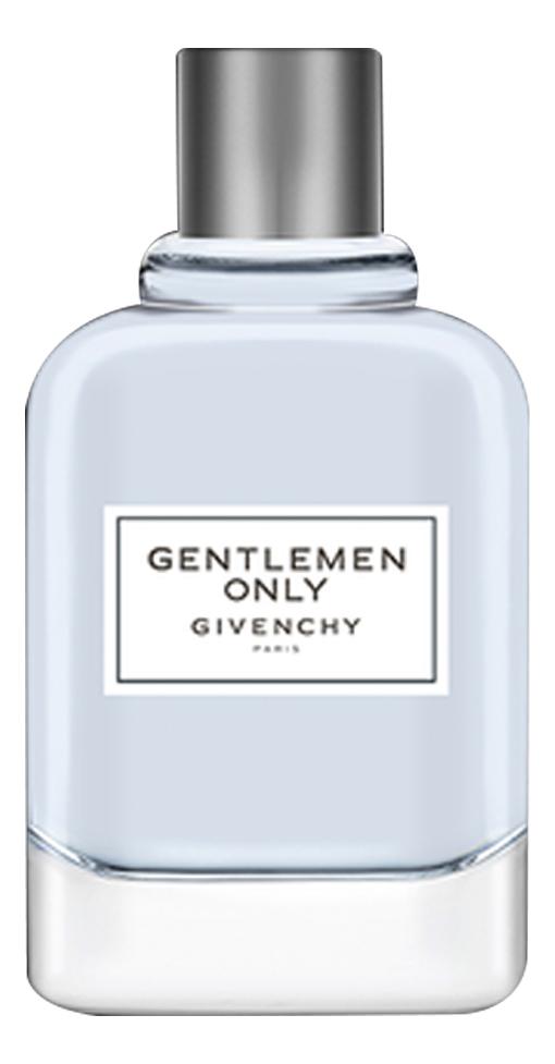 Givenchy Gentlemen Only: туалетная вода 50мл (люкс в коже)