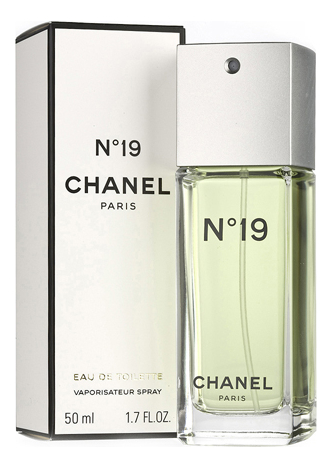 Chanel No19: туалетная вода 50мл chanel n 5 leau туалетная вода 50 мл