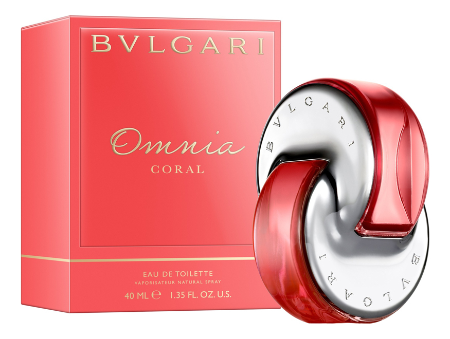 Bvlgari Omnia Coral: туалетная вода 40мл braccialini туалетная вода 40мл