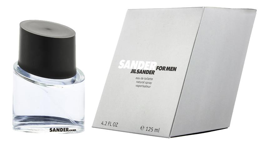 Jil Sander Sander for Men: туалетная вода 125мл кеды jil sander