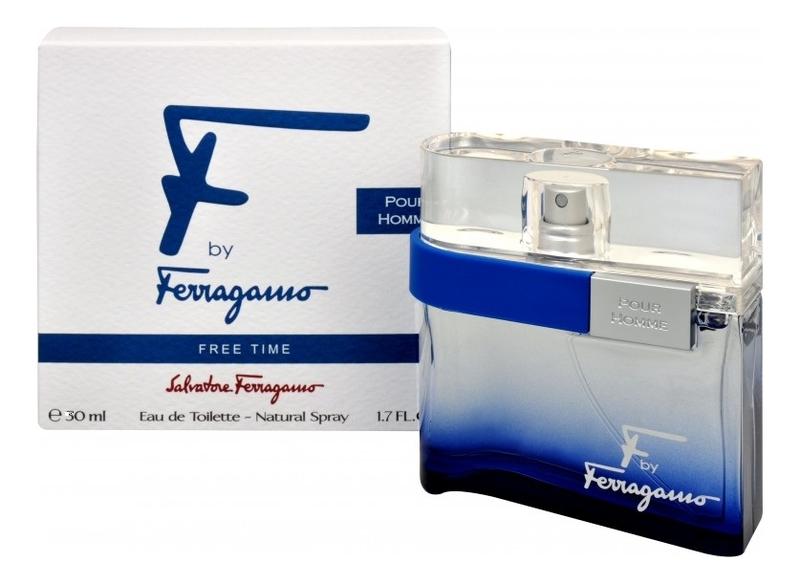 Salvatore Ferragamo F by Ferragamo Free Time: туалетная вода 30мл мужские часы salvatore ferragamo f55020014