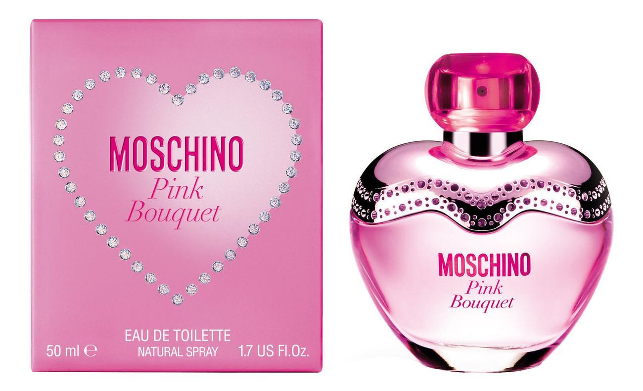 Moschino Pink Bouquet: туалетная вода 50мл