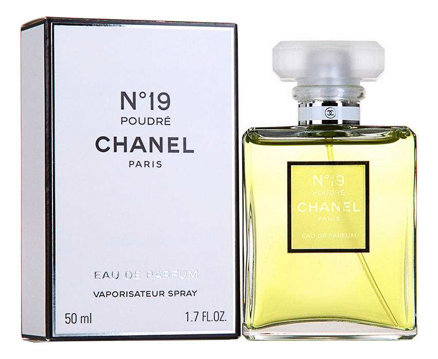 Chanel No19 Poudre: парфюмерная вода 50мл chanel coco mademoiselle intense парфюмерная вода 50мл