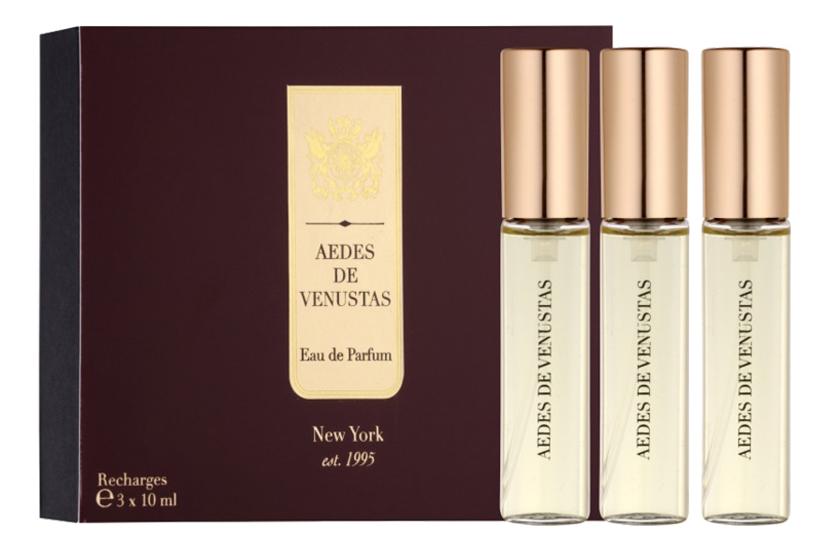 Aedes De Venustas Signature Eau De Parfum: парфюмерная вода 3*10мл запаска