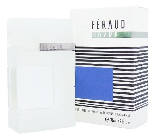 Feraud Homme: туалетная вода 75мл louis feraud vintage шелковое платье 80 е